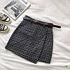 Тёплые юбки. Размеры: М-42, L-44 • расцветки: чёрный, серый, беж (6067), фото 3