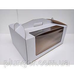 Коробка картонна для торта 31 см х 41 см х 18 см (30Т) да