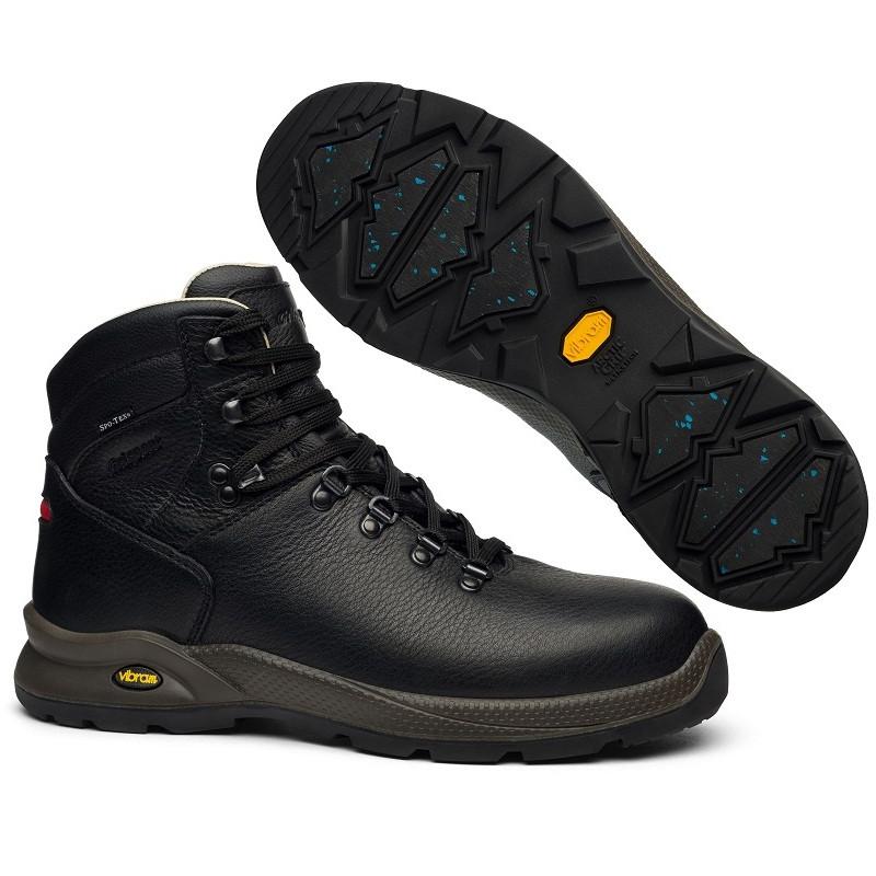 Ботинки мужские Grisport WinTherm vibram 7109o2Wtn (черные, кожаные, непромокаемые, мембрана, бренд гриспорт)