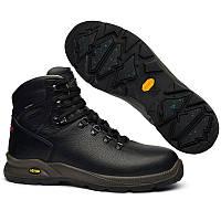 Ботинки мужские Grisport WinTherm vibram 7109o2Wtn (черные, кожаные, непромокаемые, мембрана, бренд гриспорт), фото 1