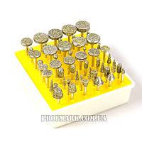 Набор алмазных боров 50 шт.