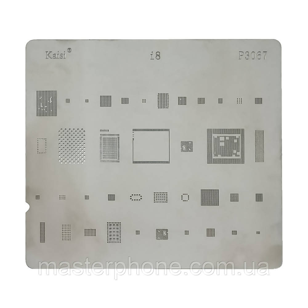 Трафарет BGA  P3067 для iPhone 8