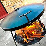 Какие выбрать угли для  сковороды бороны
