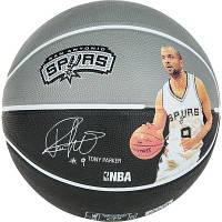 Мяч баскетбольный Spalding Nba Player Tony Parker Size 7 SKL41-227396