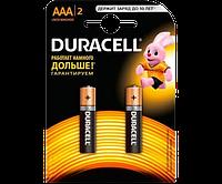 Батарейка Duracell AAA MN2400 LR03, 2шт.