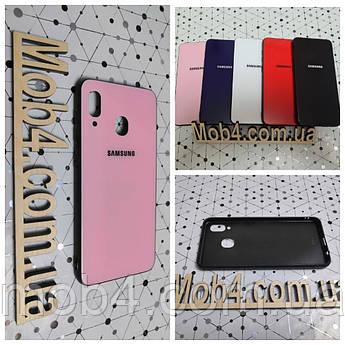Чохол Скло Бренд (обід силіконовий) для Samsung Galaxy (Самсунг Гелексі) A20