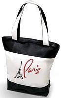 """Женская сумка """"Paris"""" - ( комбинированные ткани ) К 108, фото 1"""