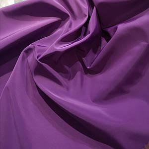 Ткань плащевка на основе президент фиолетовый