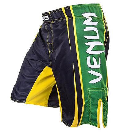 Шорти для MMA Venum All Sports Brazil Edition - Black, фото 2