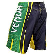 Шорти для MMA Venum All Sports Brazil Edition - Black, фото 3