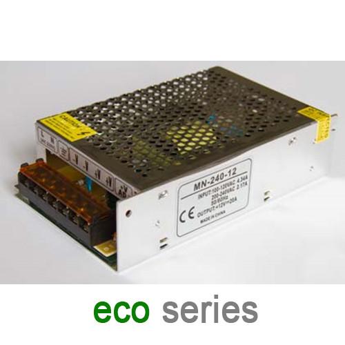 Блок питания 240W 20A 12V IP20 серия ECO