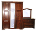 Письменный стол из дерева Версаль 120*75*60 коньяк, фото 4