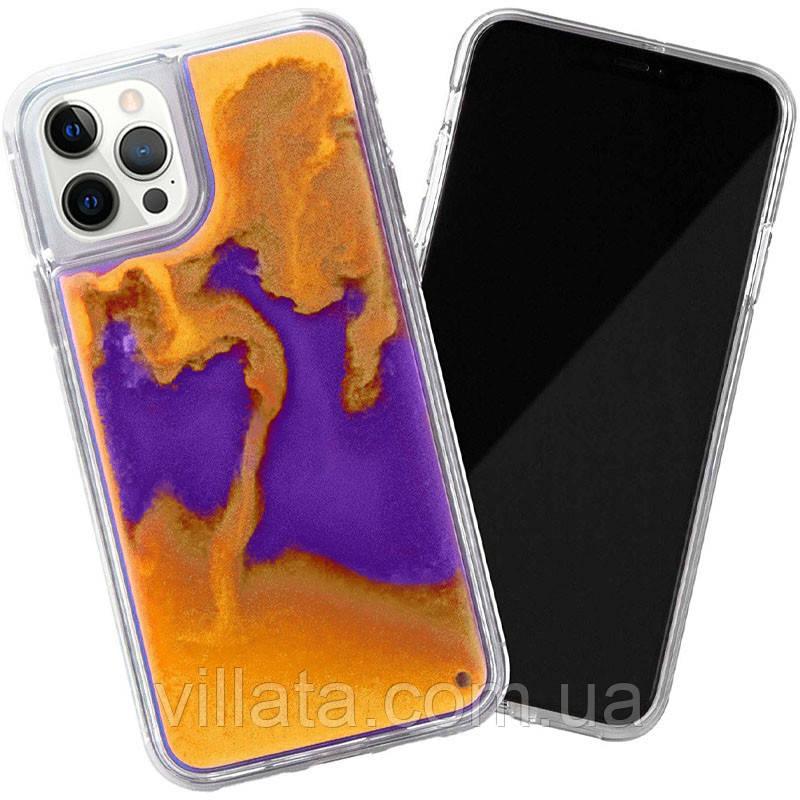 "Неоновый чехол Neon Sand glow in the dark для Apple iPhone 12 Pro Max (6.7"")"