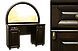 Стол из массива ольхи Кантри, фото 5
