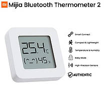 Датчик температури і вологості Xiaomi MiJia Temperature & Humidity Electronic Monitor 2 LYWSD03MMC (NUN4106CN), фото 3