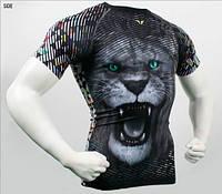 Компрессионная футболка рашгард Take Five Lion