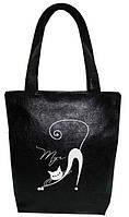 """Женская сумка - """"Мур..."""" Б68 - черная, фото 1"""