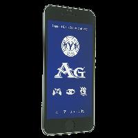Защитное стекло AG BLUE LIGHT матовое Apple iPhone 6 | 6S (Черный)
