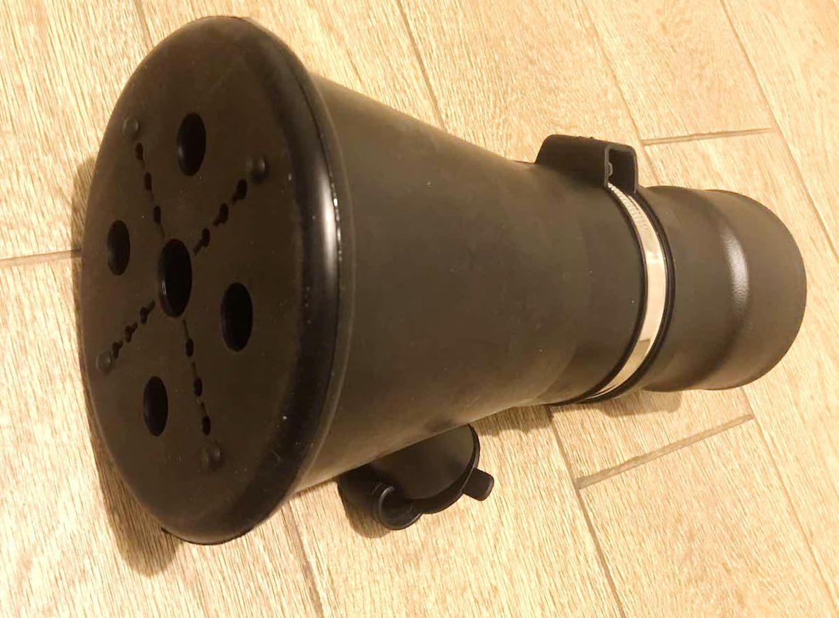 Насадка BGT під сто рукав д. 75 мм та 100 мм