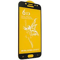Стекло 6D Premium Samsung J520 Galaxy J5 2017 (Черный)