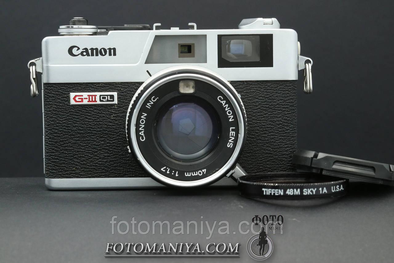 Canon Canonet Ql17 G-III - Leica для бідних