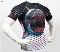 Компрессионная футболка Take Five Shark