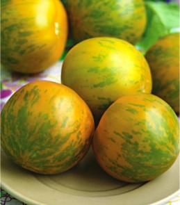 Семена томатов Зебра желтая