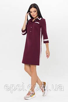 Платье женское Arizzo  AZ-180  (бордо) S (99015919-XL)