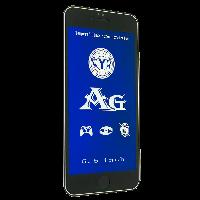 Защитное стекло AG BLUE LIGHT матовое Apple iPhone 6 Plus | 6S Plus (Черный)