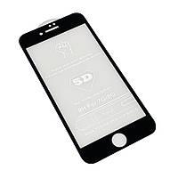 Стекло 5D Apple iPhone 7 | 8 Черный