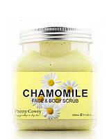 Скраб для лица Pretty Cowry Chamomile Face&Body Scrub 350 мл