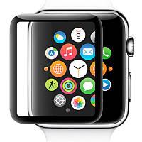 Стекло Full Glue Apple Watch 40mm Series 4 Черный