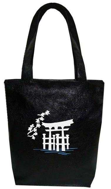 """Женская сумка - """"Япония"""" Б72 - черная"""