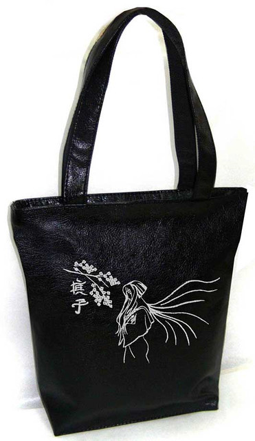 "Женская сумка - ""Сакура"" Б49- черная"