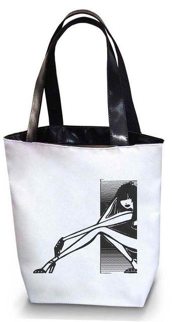 """Женская сумка - """"Девушка"""" Б98 - белая"""