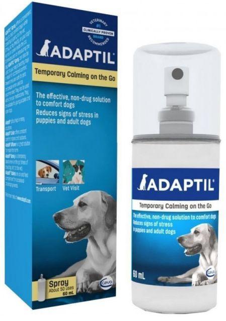 Спрей АДАПТИЛ Ceva ADAPTIL успокоительное средство-феромон для собак, 60 мл