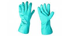 """Перчатки резиновые, хозяйственные, утеплённые, """"HONG QI SHOU"""", размер — L"""