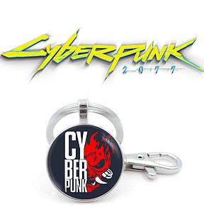 "Брелок Киберпанк 2077 ""Fire Devil"" / Cyberpunk 2077"