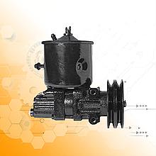 Насос ГУРа ГАЗ 66 з бачком і шківом / 66-3407010