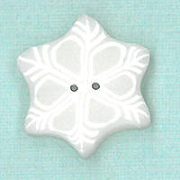 Пуговицы Just Another Button Company small snowflake 4442.S