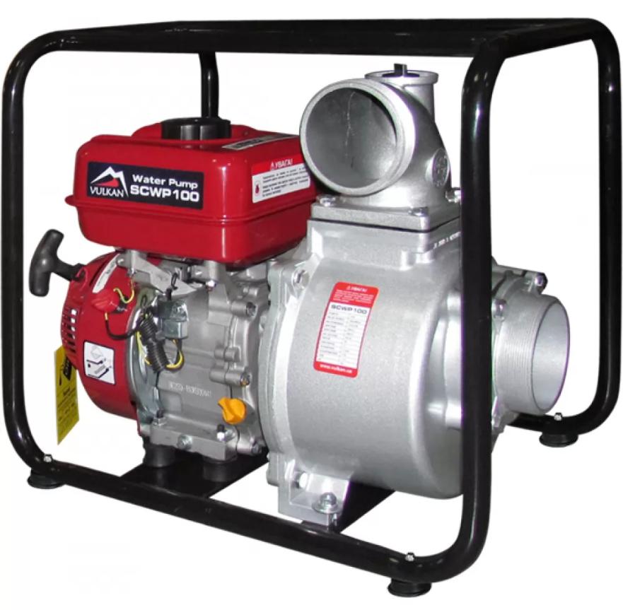 Мотопомпа бензиновая для чистой воды, Vulkan SCWP100