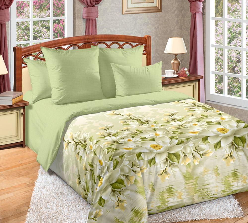 Набор спального постельного белья GoodSon Magnolia, перкаль