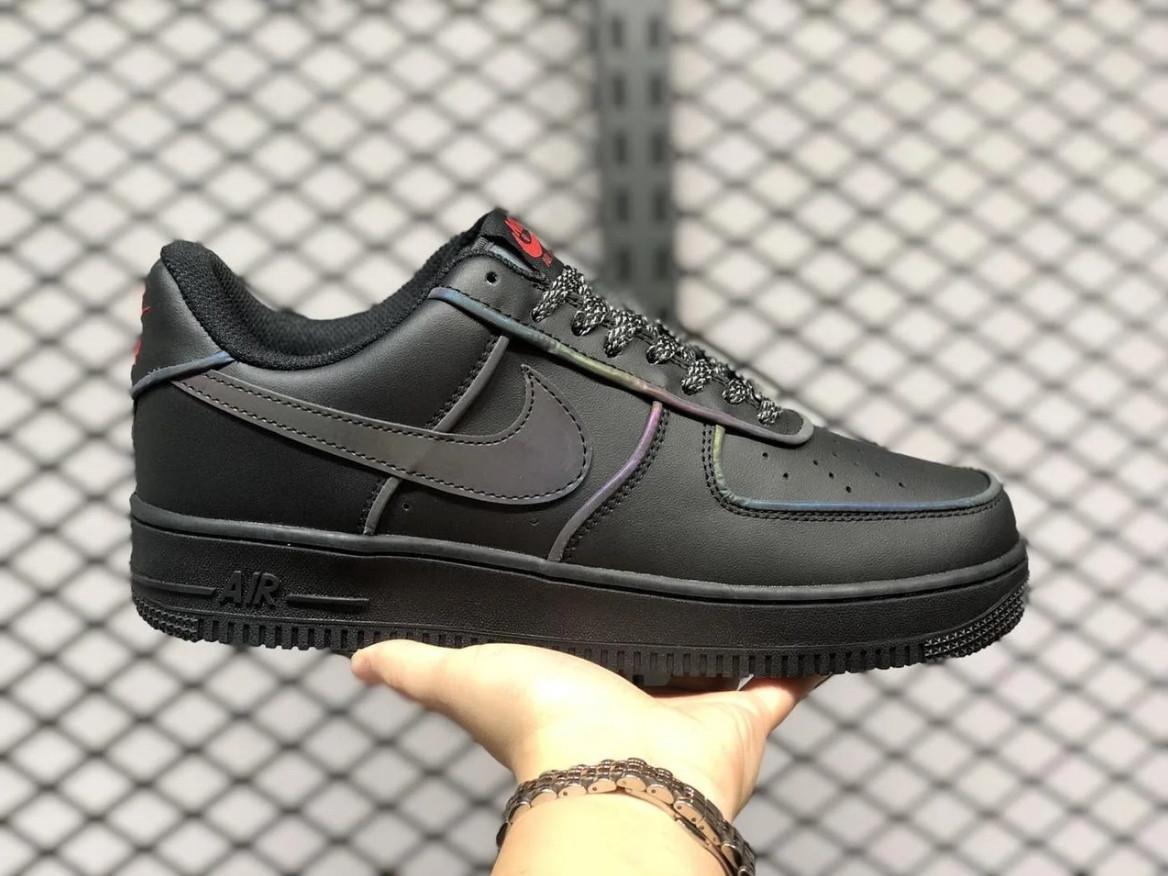 """Кроссовки Nike Air Force 1 Low 3M """"Черные"""""""