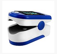 Пульсоксиметр Pulse oximeter, пульсометр измеритель пульса кислорода в крови на палец, фото 1