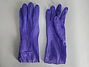 """Перчатки резиновые, хозяйственные, утеплённые, """"HONG QI SHOU"""", размер — L, фото 3"""
