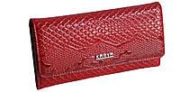 Кошелек женский лаковый красный натуральная кожа Karya 1146-019, фото 1