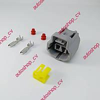 DJ70217YB-1.8-21 Гнездовой электрический разъем с 2 отверстиями