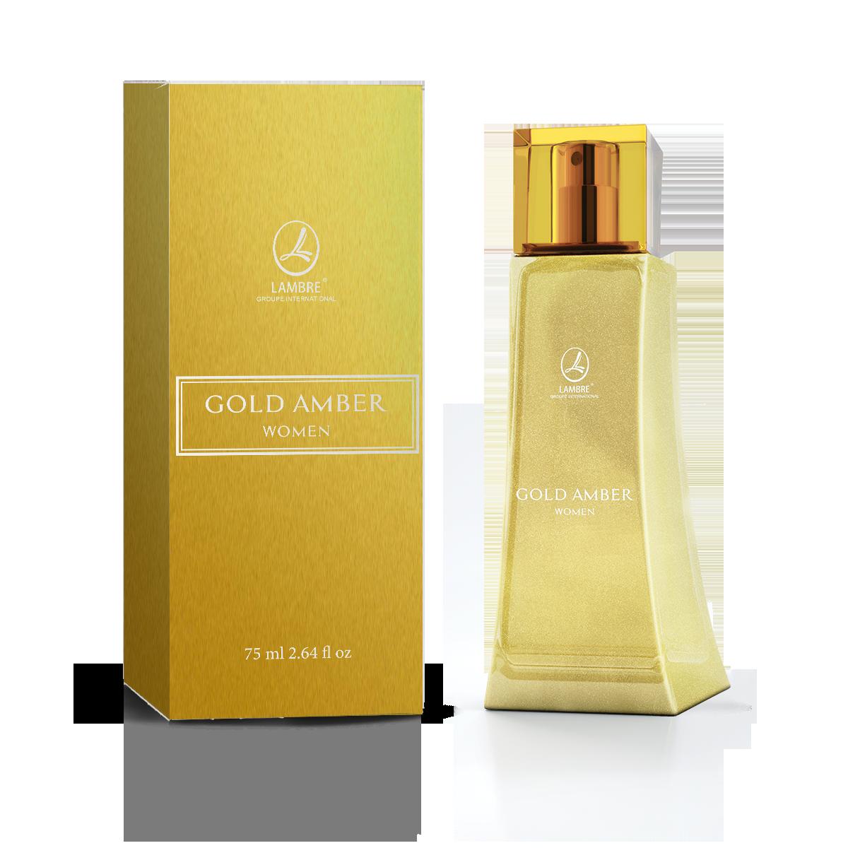 Gold Amber Women, парфюмерная вода 75 мл