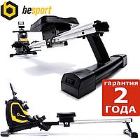Гребной тренажер Besport BS-6032R SWIMMER магнитный черно-желтый Вес пользователя до: 145 кг