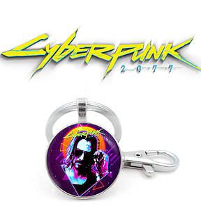 "Брелок Киберпанк 2077 ""Cool Man"" / Cyberpunk 2077"